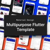 Mart MultipurposeFlutter Material Design Template icon