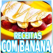Receitas Com Banana Grátis icon