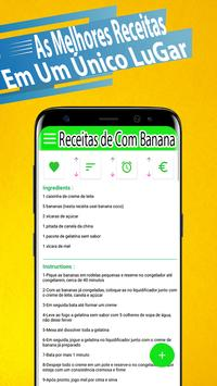 Receitas Com Banana Grátis screenshot 1