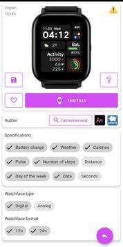 Amazfit GTS - WatchFaces for Amazfit GTS screenshot 2