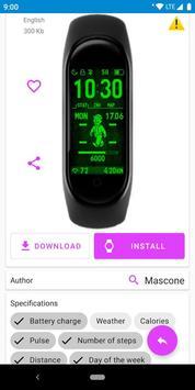 MiBand4 screenshot 2
