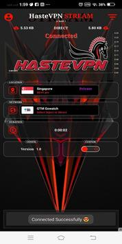 HasteVPN Stream screenshot 1