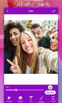 Selfie With Celebrity screenshot 1