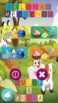 Mari Belajar (Marbel) Alfabet & Bilangan screenshot 2