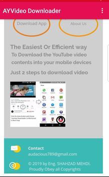 AYVideo Downloader screenshot 1