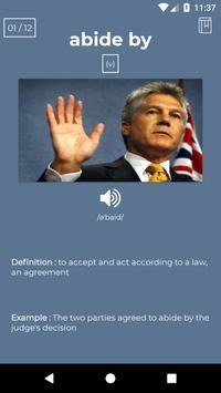 Toeic FlashCard Vocabulary poster