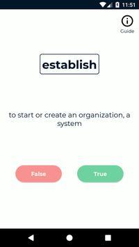 Toeic FlashCard Vocabulary screenshot 6
