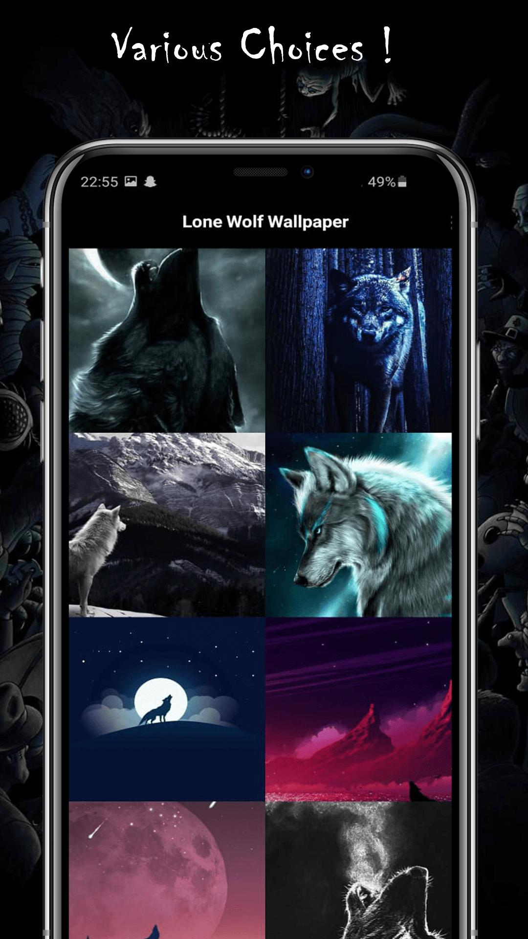 Lone Wolf Wallpaper For Android Apk Download
