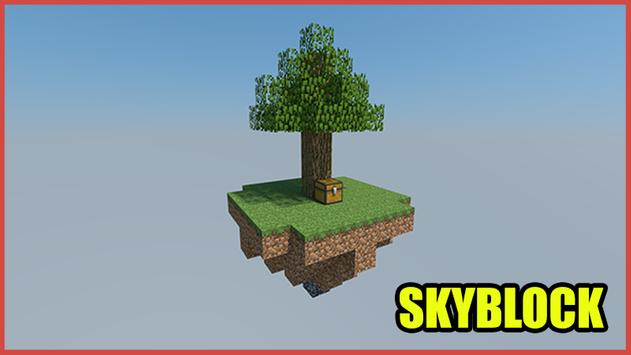 Skyblock Maps for MCPE poster