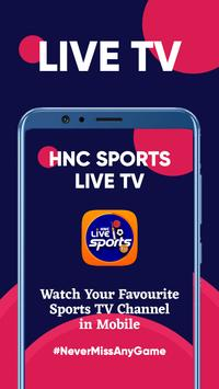 HNC Sports LIVE TV 포스터