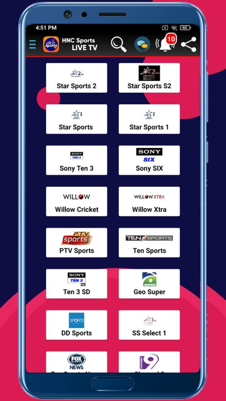 HNC Sports Live TV APK 5