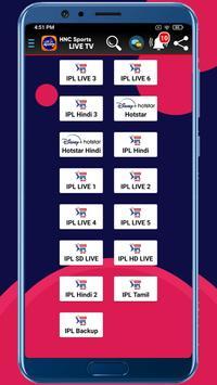 HNC Sports LIVE TV syot layar 5