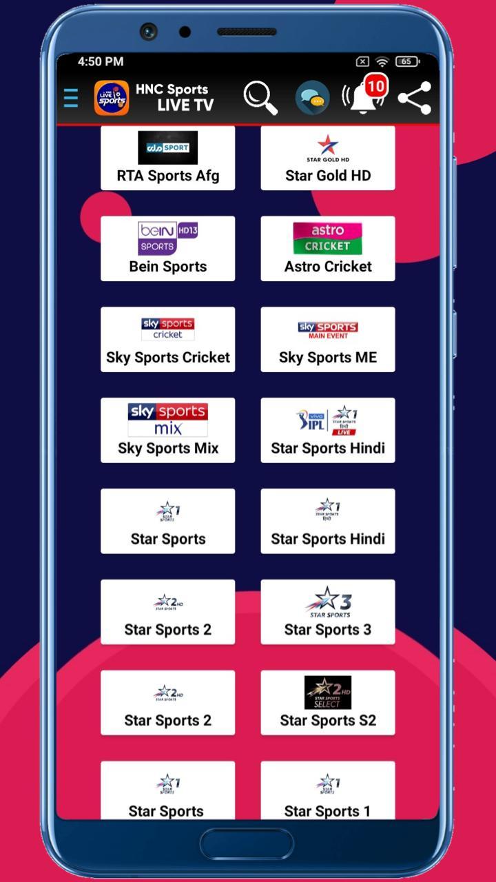 HNC Sports Live TV APK 4