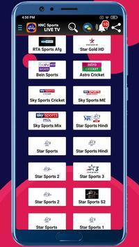 HNC Sports LIVE TV syot layar 3