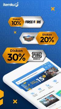 itemku - Top-up Game Termurah se-Indonesia poster