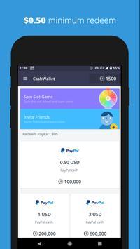 eCashWallet - Play Game and Earn Money, Gift Card, Free PUBG UC screenshot 3