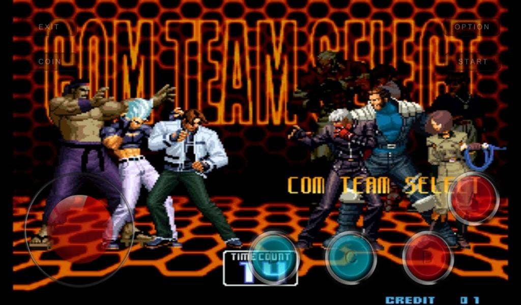 The Kof Fighters 2002 Arcade Game Mame For Android Apk Download