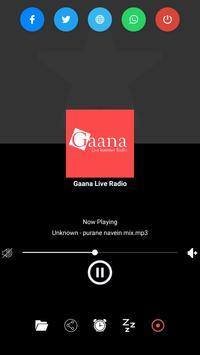 Gaana Live Radio poster
