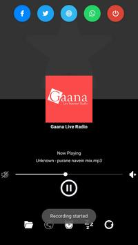 Gaana Live Radio screenshot 1