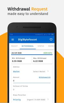 DigiByteFaucet: Free DigiByte screenshot 4