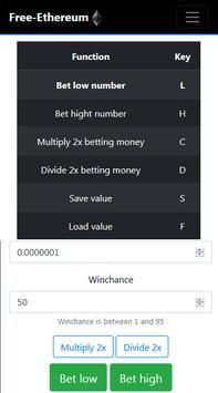 Free-Ethereum screenshot 1