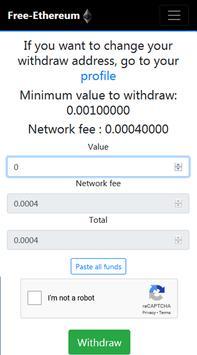 Free-Ethereum screenshot 3