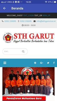 STH Garut App imagem de tela 1