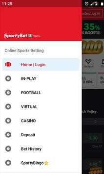 Sportybet Mobile screenshot 1