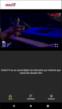 UnikaTV - Canal Digital para todas la Familia screenshot 2