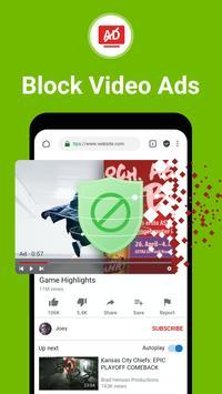 Free Adblocker Browser - Adblock & Popup Blocker Plakat