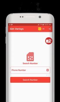 Sim Verisys screenshot 1