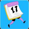 Page-a-Day calendar, holidays, history trivia quiz simgesi