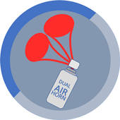 DUAL Air Horn - Infinite /Continuous Mode icon