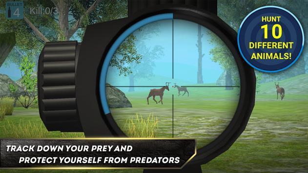 Deer killing: Sniper Hunter 3D poster