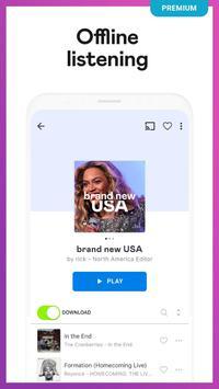 Deezer Music Player: Songs, Radio & Podcasts 截图 3