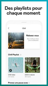 Deezer : musique, podcasts & playlists capture d'écran 4
