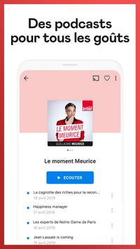 Deezer : musique, podcasts & playlists capture d'écran 6