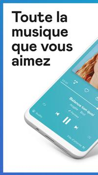 Deezer : musique, podcasts & playlists Affiche