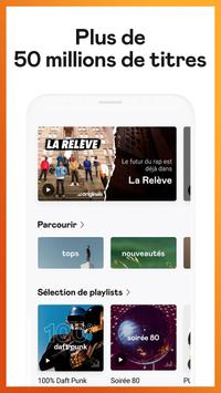 Deezer : musique, podcasts & playlists capture d'écran 2