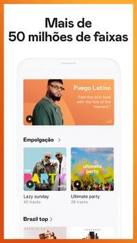 Deezer: Ouvir Música Online, Playlists e Rádio imagem de tela 2