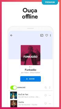 Deezer: Ouvir Música Online, Playlists e Rádio imagem de tela 3
