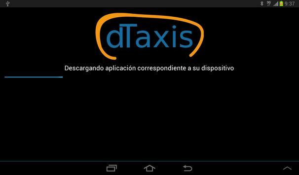 Instalador dTaxis screenshot 1