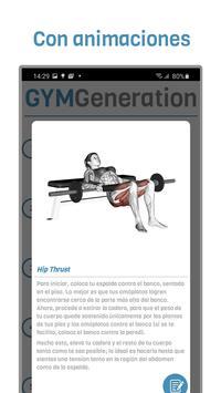 GYM Generation Fitness Pro Ekran Görüntüsü 5
