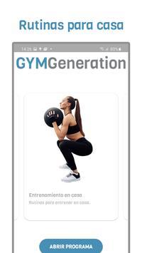 GYM Generation Fitness Pro Ekran Görüntüsü 1