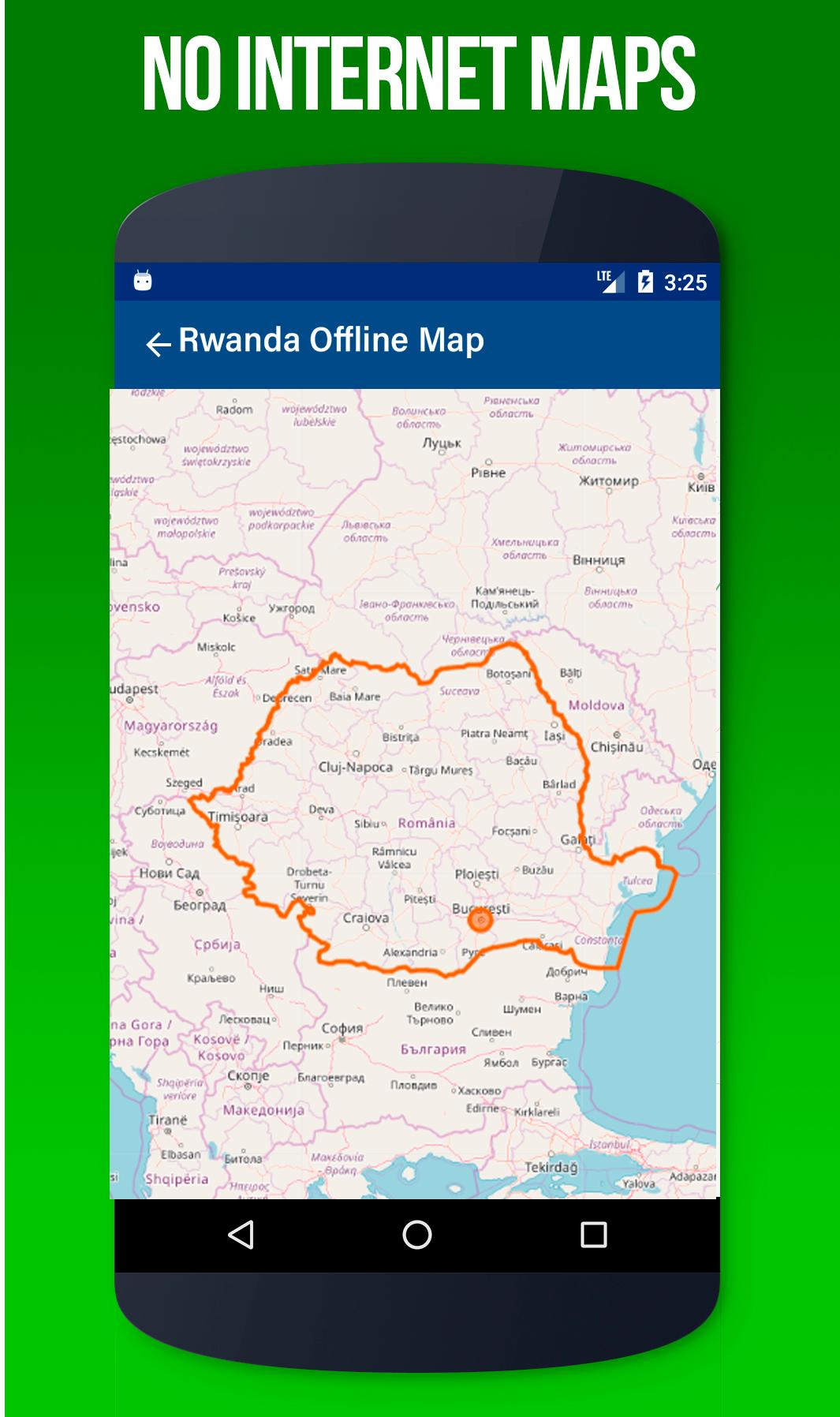Rwanda Maps Driving Directions Gps Andriod App For Android