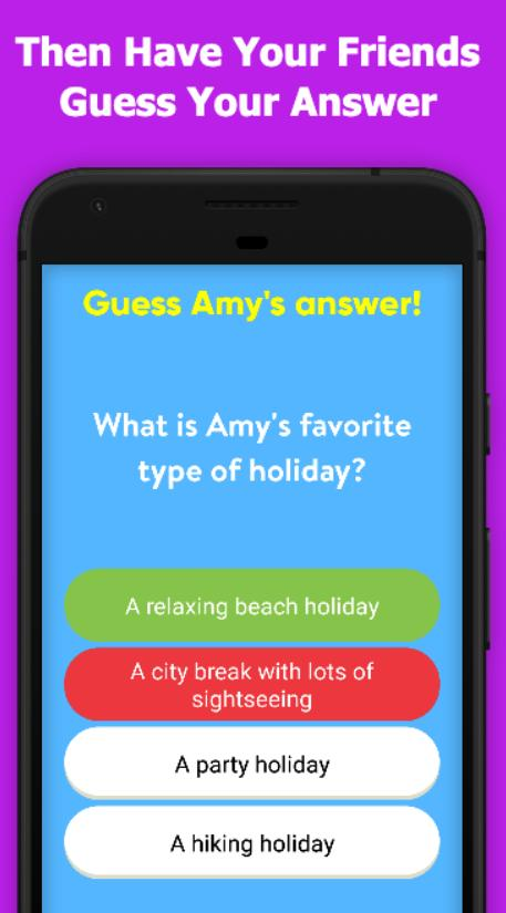 Friends quiz game your How well