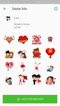 Everyday WhatsApp Stickers Collection screenshot 4