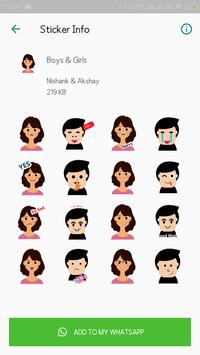 Everyday WhatsApp Stickers Collection screenshot 6