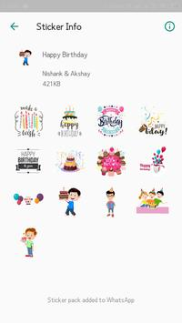 Everyday WhatsApp Stickers Collection screenshot 3