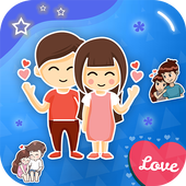 Romantic Stickers For Whatsapp Mega Pack icon